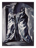 The Visitation Premium Giclee Print by  El Greco