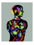 Rainbow Man 2 Giclee Print by Charlie Chann