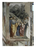 Sermon of Saint Peter Giclee Print by Masolino Da Panicale