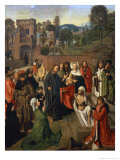 The Raising of Lazarus Giclee Print by Geertgen tot Sint Jans
