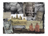 Civilizations Series: Angkor Wat Giclee Print by Gerry Charm