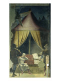 The Dream of Constantine Giclee Print by Piero della Francesca 