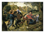 Card-Players Giclee Print by Pieter Brueghel the Younger