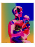 Mother and Child II Giclee Print by Charlie Chann