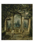 Medici Villa Giclee Print by Diego Vel&#225;zquez