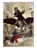 The Plague Giclee Print by Arnold Bocklin