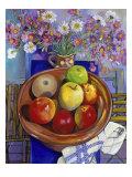 Silent Apples (Pommes Silencieuses) Giclee Print by Isy Ochoa