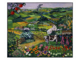 Orne, Normandy, France (L'Orne/Normandie) Giclee Print by Isy Ochoa