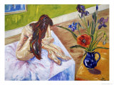 Nude with Flowers Giclee Print by Sir Roy Calne