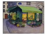 A Parisian Florist Champ Libre Giclee Print by Isy Ochoa