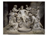 Apollo Served by the Nymphs Giclee Print by François Girardon