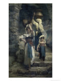 The Women of Cervaria Giclee Print by Ernest Antoine Hebert