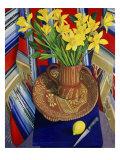 Daffodils and Lemons (Jonquilles et Citrons) Giclee Print by Isy Ochoa