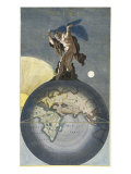 Atlas Giclee Print by Justus Danckerts