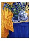 Cornflowers (Les Bleuets) Giclee Print by Isy Ochoa