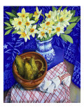 First Daffodils (Premieres Jonquilles) Giclee Print by Isy Ochoa