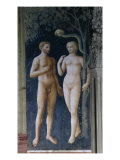 Temptation of Adam and Eve Giclee Print by Masolino Da Panicale