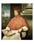 Portrait of Cardinal a Pallavicini Giclee Print by Sebastiano del Piombo
