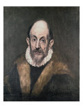 Portrait of a Man Giclee Print by El Greco