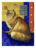 Persian Cat, Series I Giclee Print by Isy Ochoa