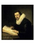 A Scholar Giclee Print by  Rembrandt van Rijn