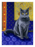 Chat Chartreux, Series I Giclee Print by Isy Ochoa
