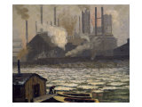 Schollenberg Rolling Mill Dismantled Giclee Print by James King Bonar