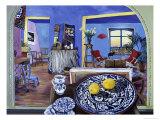 Paix-Citrons Giclee Print by Isy Ochoa