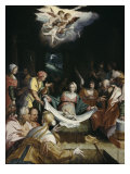 The Nativity Giclee Print by Hans von Aachen