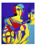 Homage to Picasso Giclee Print by Diana Ong
