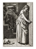 Rahab Hides the Spies Giclee Print by Frederick Richard Pickersgill
