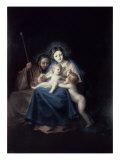 The Holy Family Giclee Print by Francisco de Goya