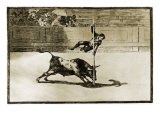 La Tauromaquia Series Giclee Print by Francisco de Goya