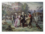 Building the Cradle of Liberty Giclee Print by Jean Leon Gerome Ferris