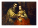 The Jewish Bride Giclee Print by  Rembrandt van Rijn