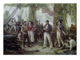 We Have Met the Enemy and They Are Ours, 1813 Giclee Print by Jean Leon Gerome Ferris