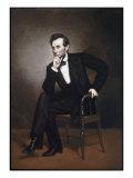 Abraham Lincoln Impression giclée par George Peter Alexander Healy