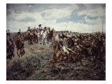 Napoleon at Friedland Giclee Print by Jean-Louis Ernest Meissonier