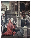 Presentation of Mary in the Temple Premium Giclee Print by Bernard van Orley