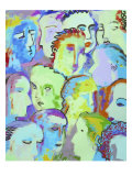 Audience Giclee Print by Diana Ong