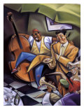 Untitled, (Jazz) Giclee Print by Russ Wilson