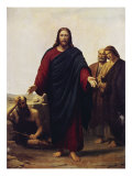 Christ with His Disciples Giclee Print by Jorgan Roed