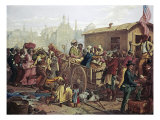 After the Sale: Market Scene in Richmond, VA Giclee Print by Eyre Crowe