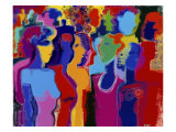 Party People Giclee Print by Diana Ong