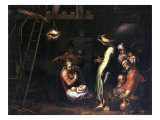 The Birth of Christ Premium Giclee Print by Abraham Bloemaert