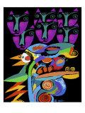 Katbird Giclee Print by Diana Ong