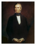 James Polk, (President 1845-1849) Reproduction procédé giclée par George Peter Alexander Healy