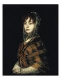 Senora Sabasa Garcia Giclee Print by Francisco de Goya