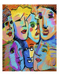 Big Group Giclee Print by Diana Ong