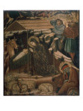 Adoration of the Child Giclee Print by Barnaba Da Modena